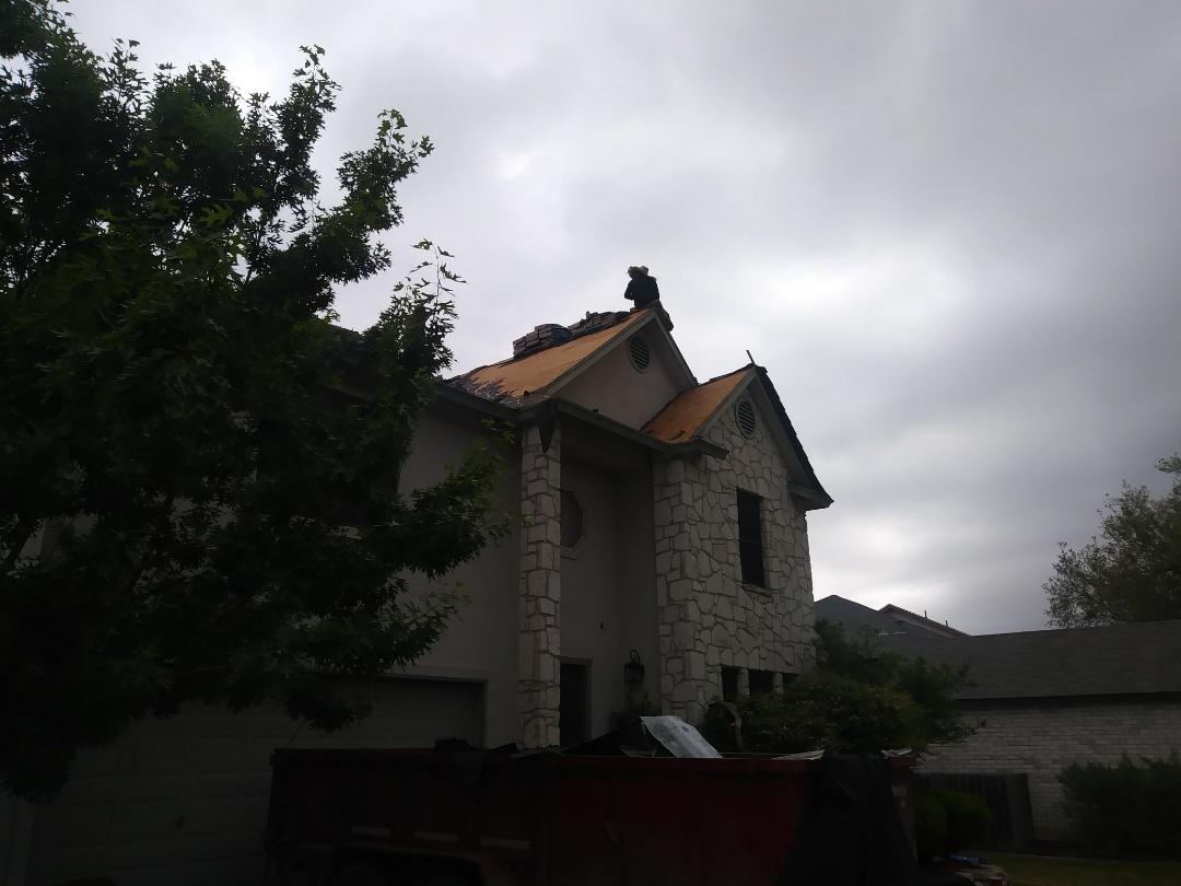 San Antonio, TX - Phoenic Exteriors roofing contractor for storm damage San Antonio TX