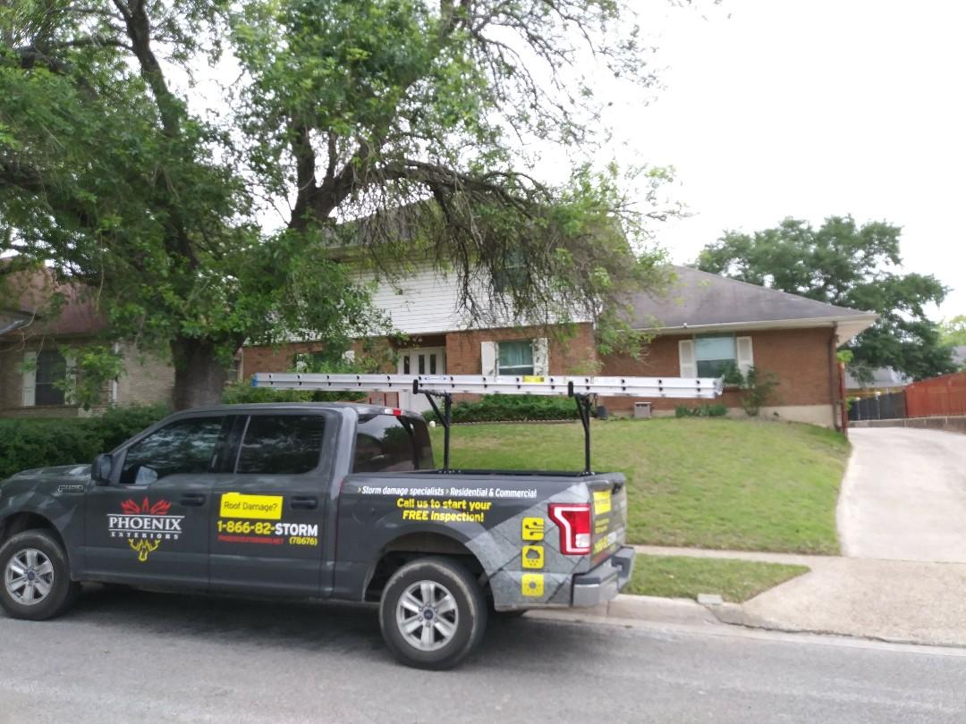Schertz, TX - Best roofer in Schertz, TX.  Phoenix Exteriors.