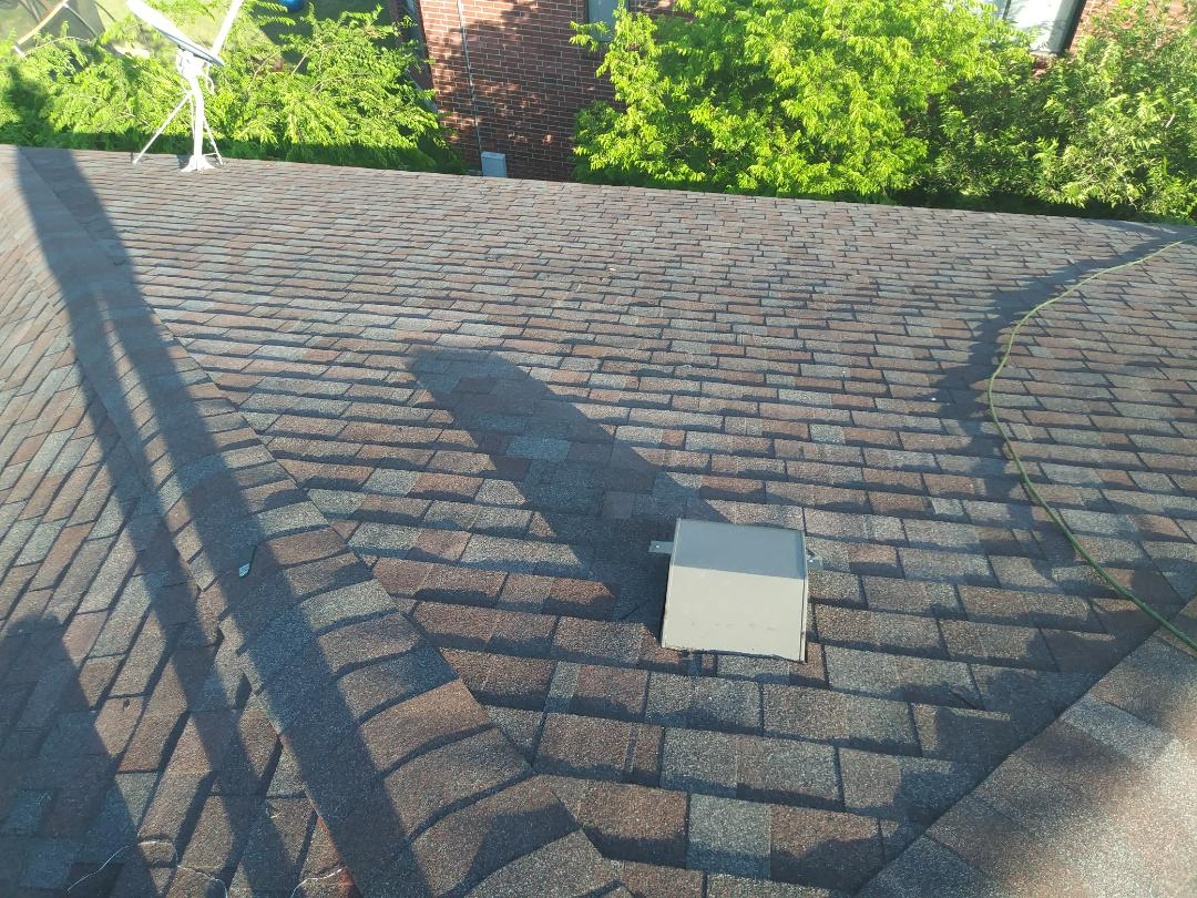 San Antonio, TX - Shingle installation complete in Converse.