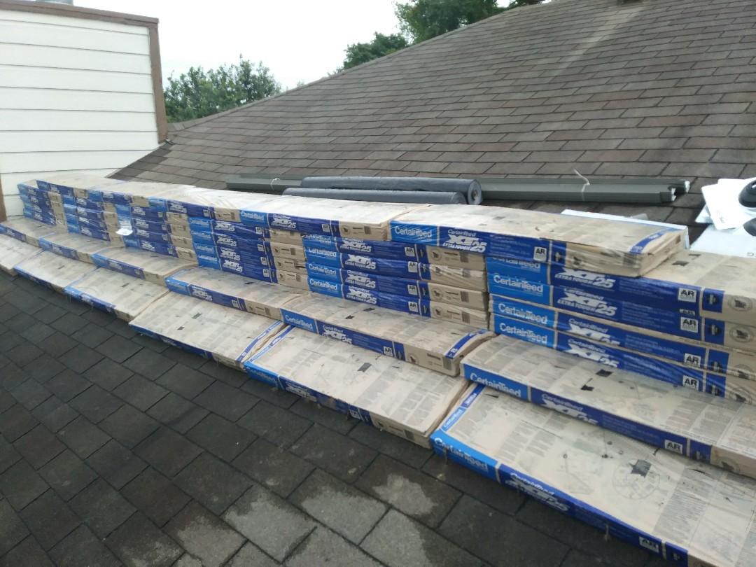 Schertz, TX - Materials delivered