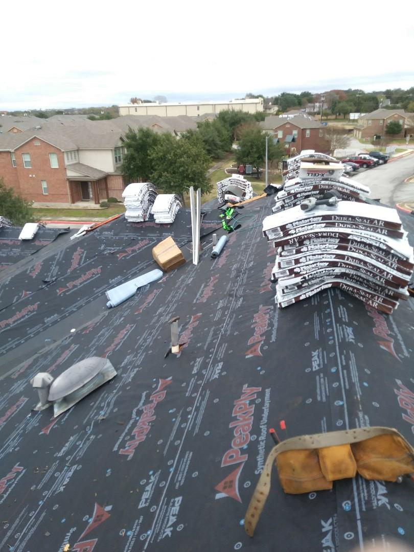 San Antonio, TX - Work continues