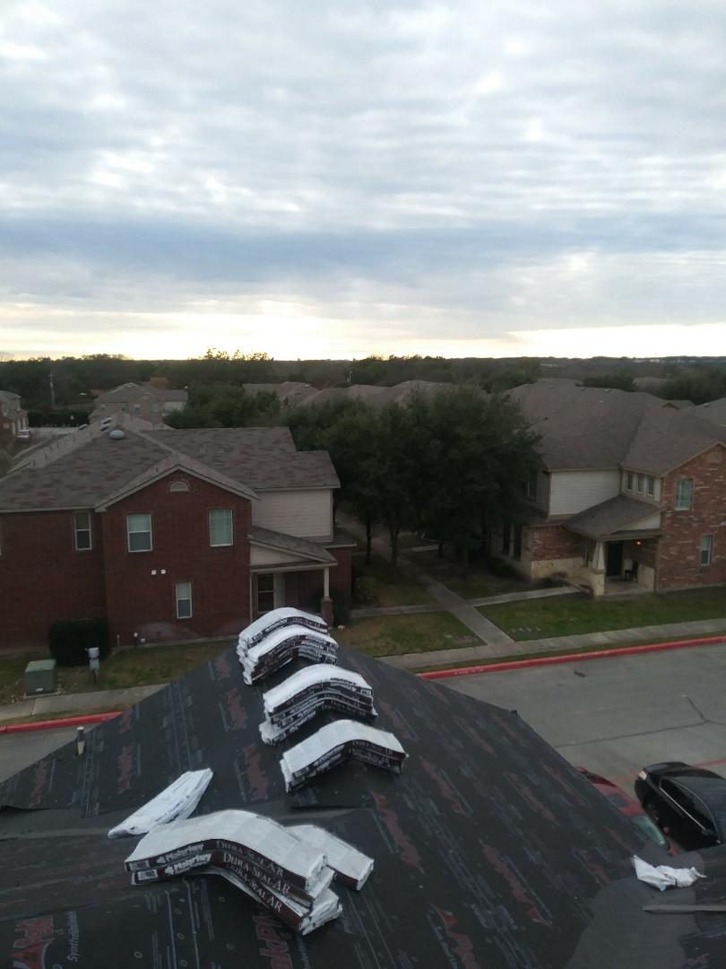 San Antonio, TX - Commercial roofing work