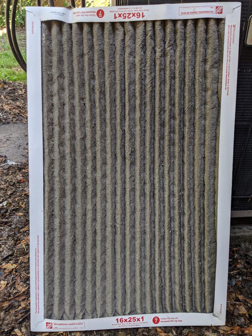 Oak Park, MI - Goodman janitrol no AC. Replaced air filter.