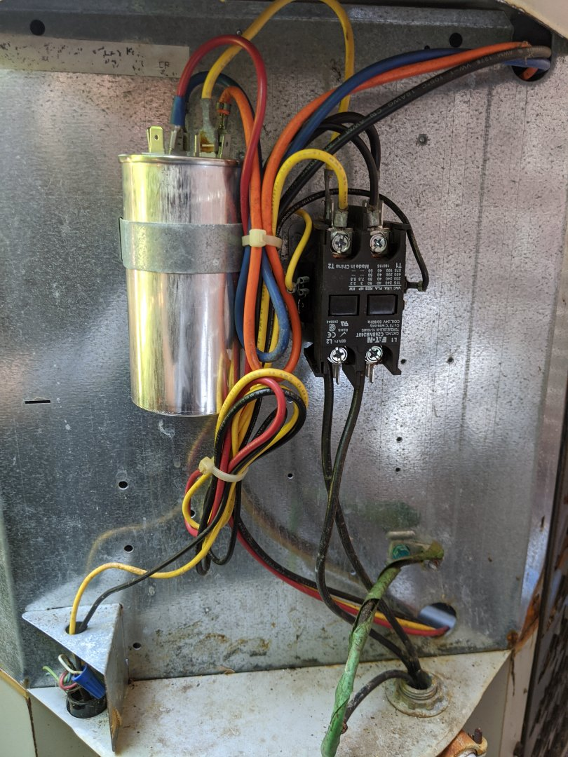 Huntington Woods, MI - No AC Gibson unit buzzing. Replaced capacitor and contactor. Up and running cool air.