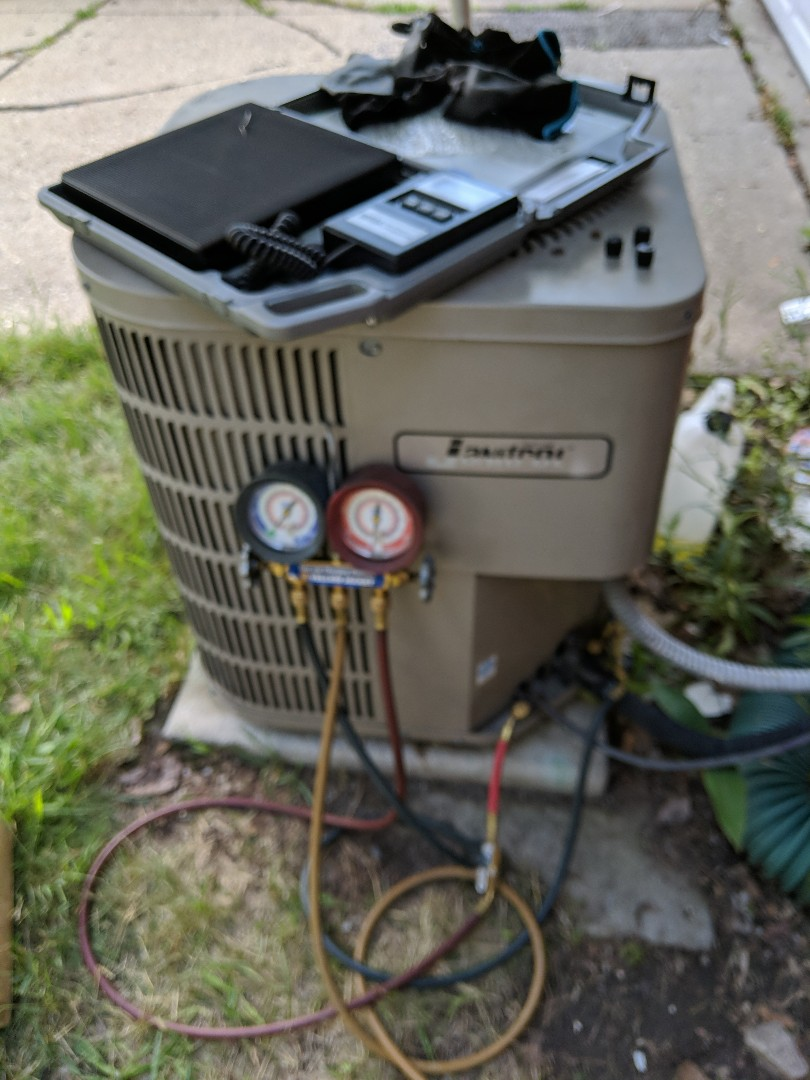 Southfield, MI - Janitrol ac repair A coil replacement