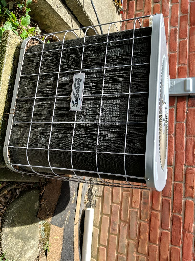 Southfield, MI - Arcoair not blowing cold air. Stopped working. Performed capacitor replacement.