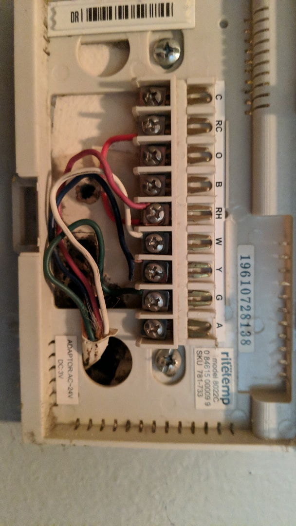 Oak Park, MI - Thermostat button not working. Checked wires needs replacing.