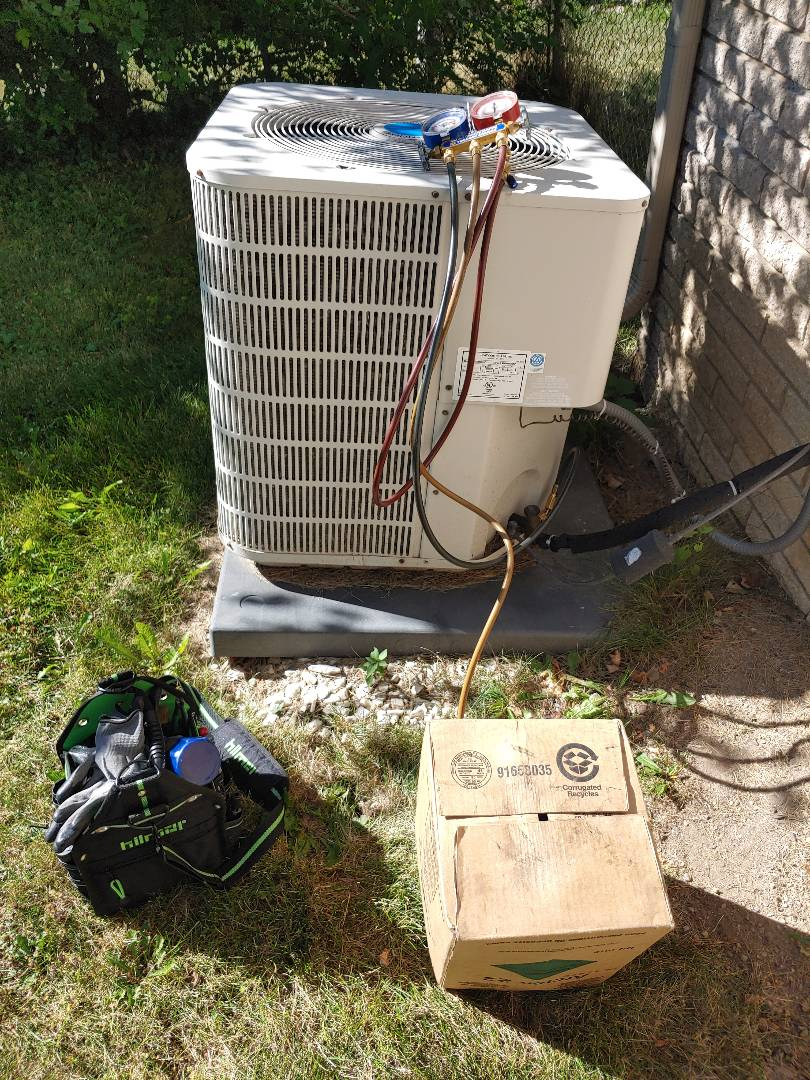 Southfield, MI - Air conditioner not cooling.