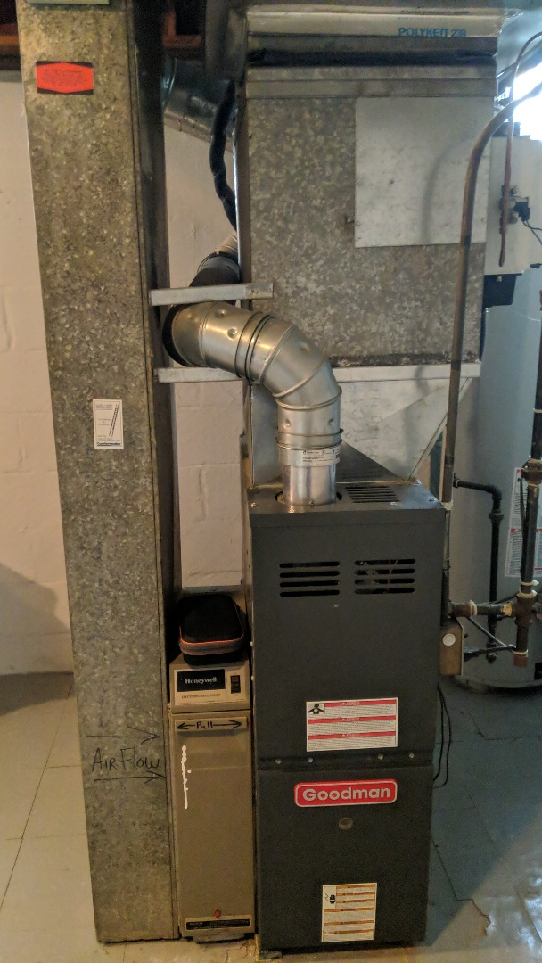 Berkley, MI - Goodman Carbon monoxide test