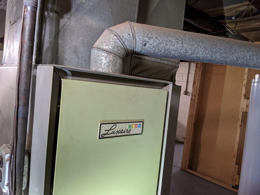 Lincoln Park, MI - Luxaire furnace maintenance carbon monoxide test