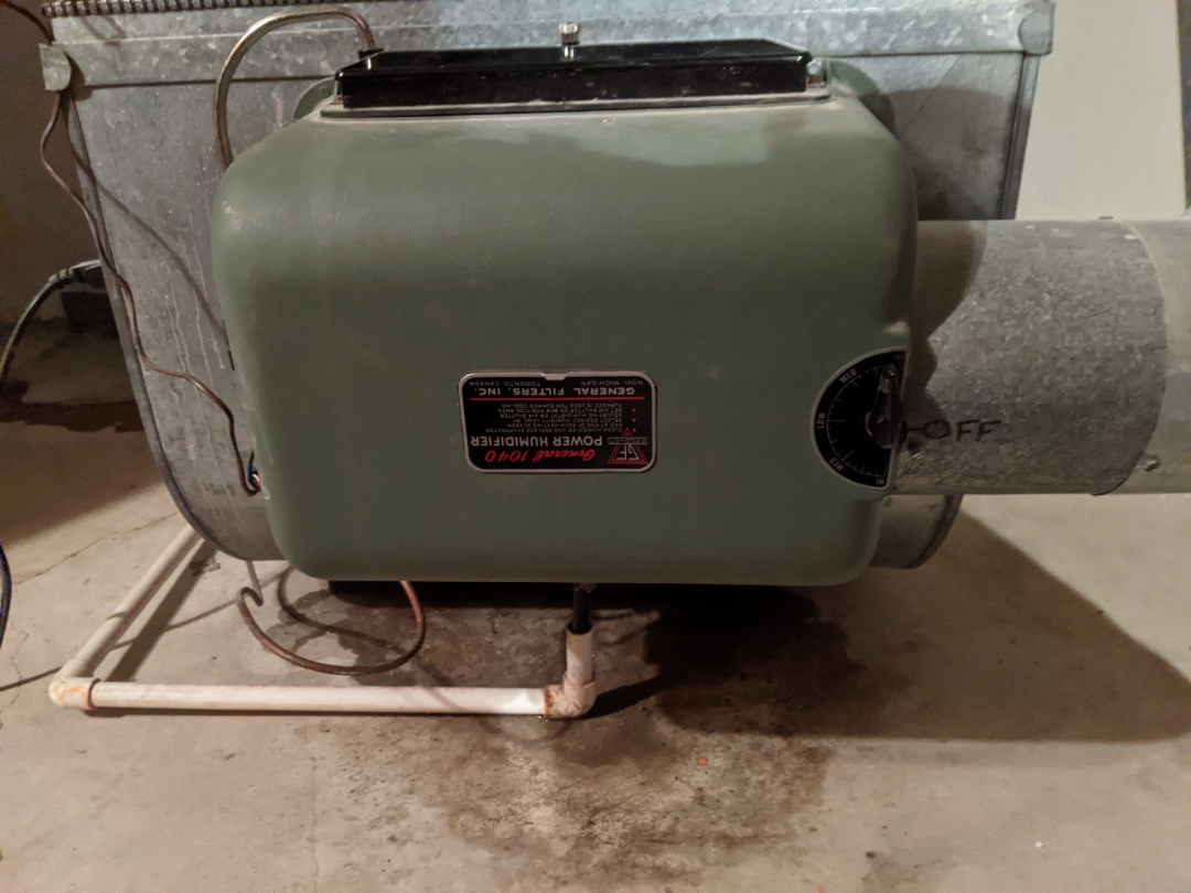 West Bloomfield Township, MI - Furnace maintenance performed Comfortmaker furnace tune up general humidifier