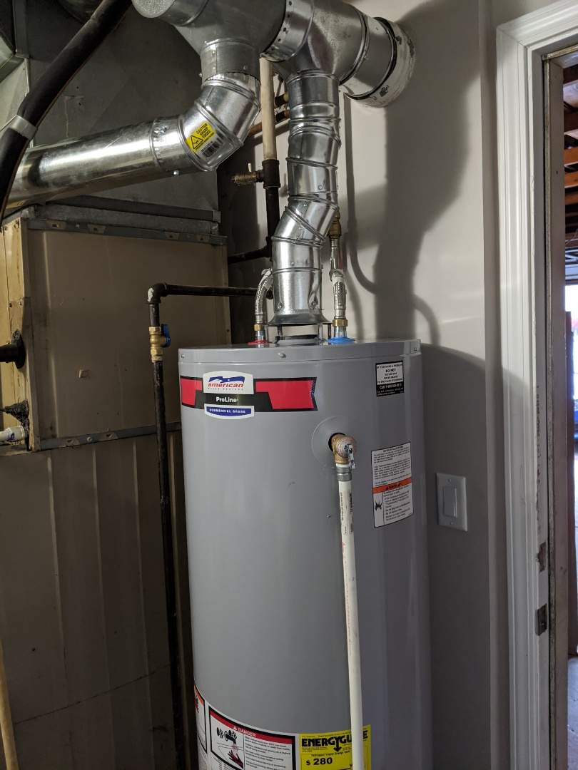 West Bloomfield Township, MI - Water heater install new American standard water heater