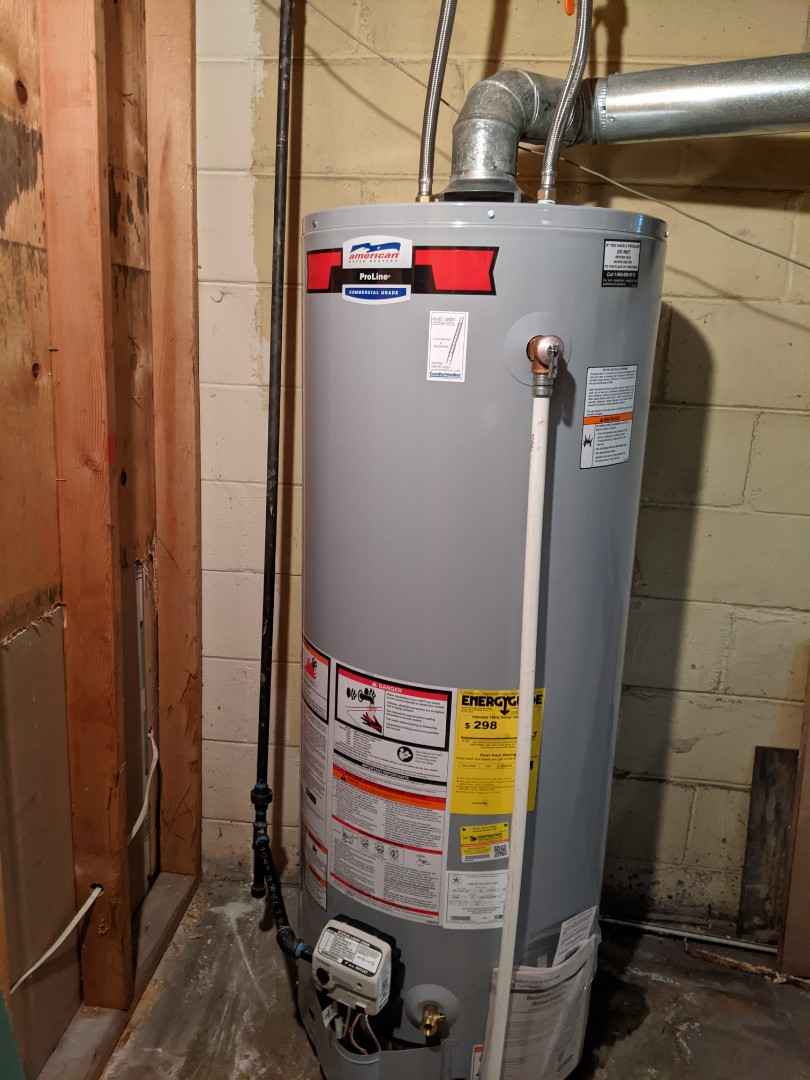 Oak Park, MI - Water heater install American standard installed