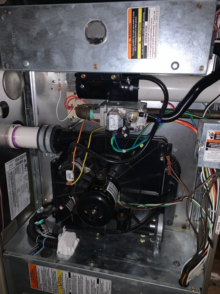 Livonia, MI - Furnace water heater tune up performed annual maintenance