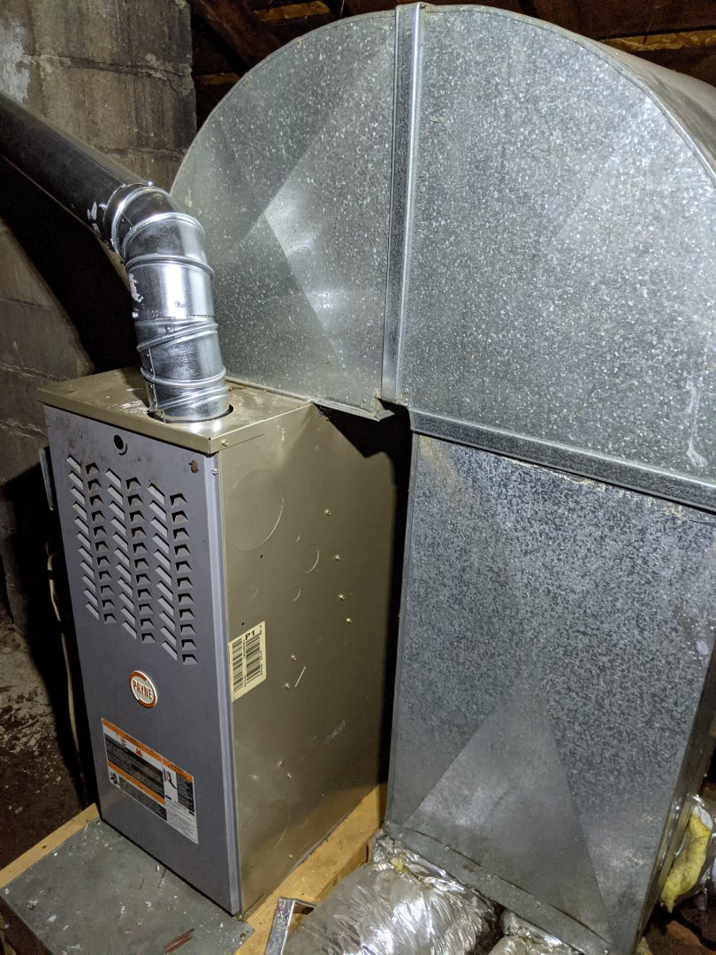 Detroit, MI - Payne furnace no heat. Inducer motor not working.