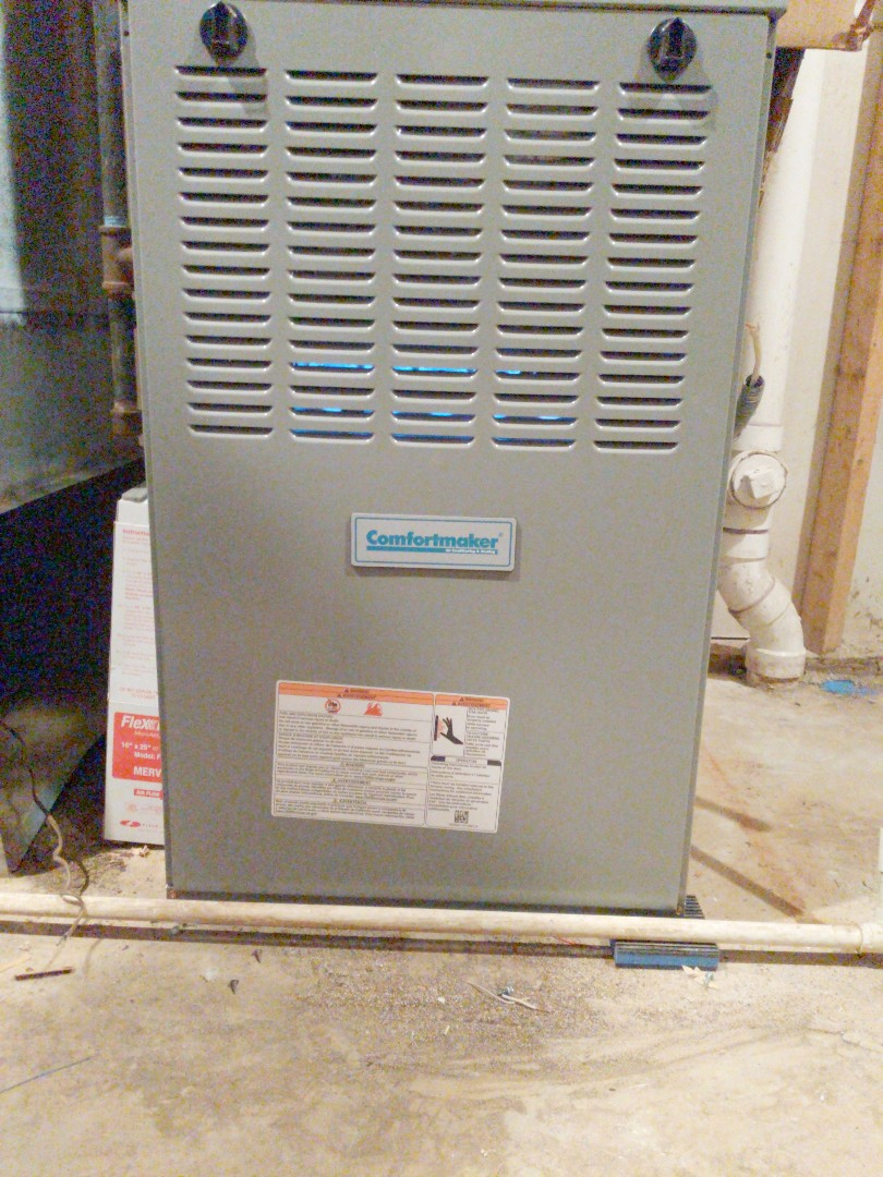 West Bloomfield Township, MI - Furnace install Comfortmaker furnace install