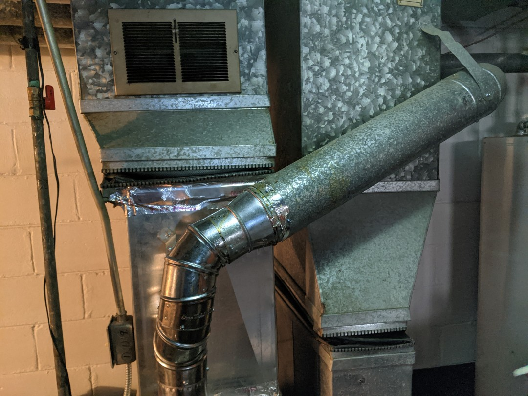 Detroit, MI - Furnace repair Goodman furnace inducer motor install