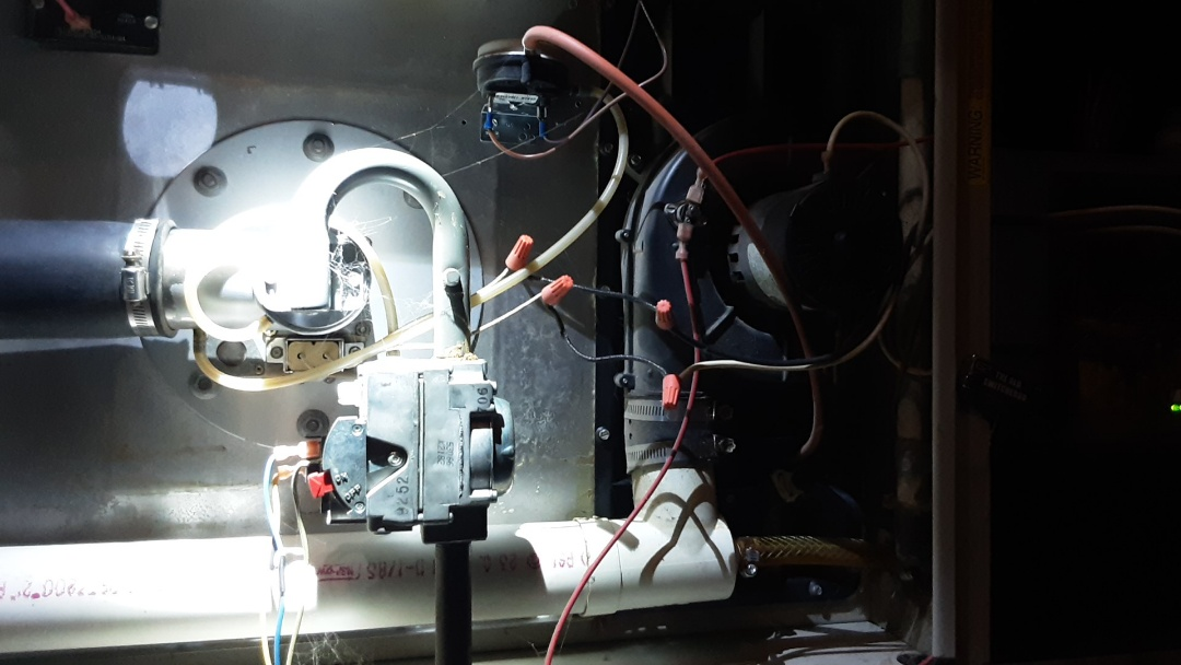 Oak Park, MI - Ruud furnace glow bar install