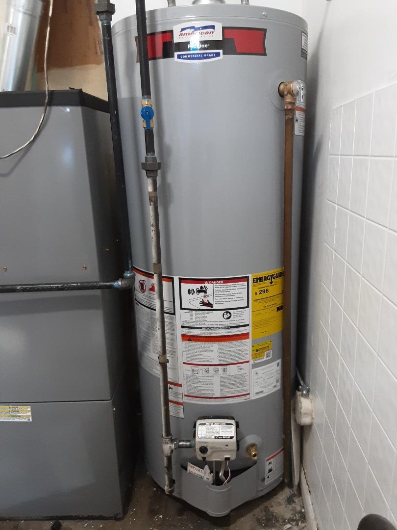 Oak Park, MI - Comfortmaker furnace install American water heater install