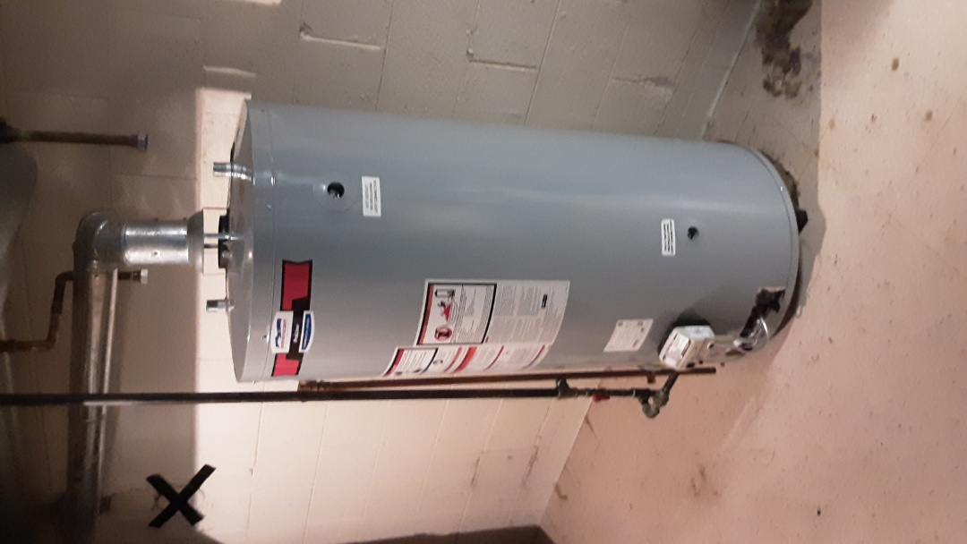Southfield, MI - Hot Water Tank Install