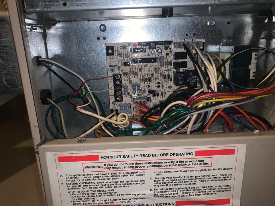Detroit, MI - Ducane Furnace, No heat: New Control Board
