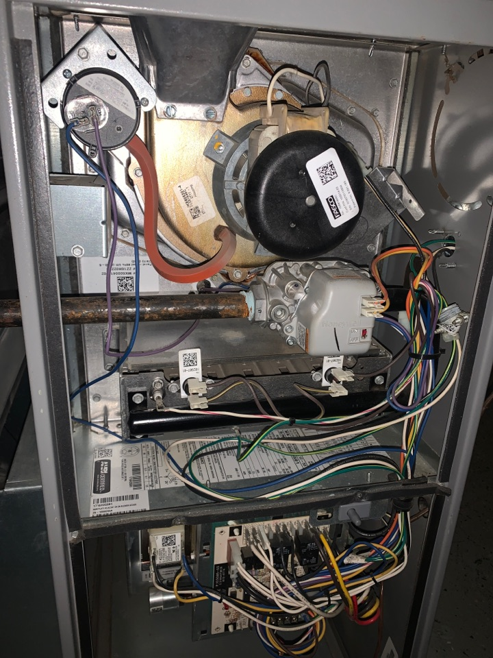 Detroit, MI - Airease Furnace, intermittent heat; Clean & Check Maintenance visit