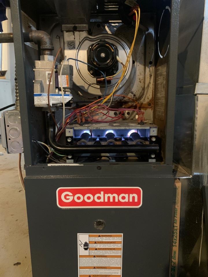 Oak Park, MI - Goodman Furnace, no heat; Basic Maintenance Visit
