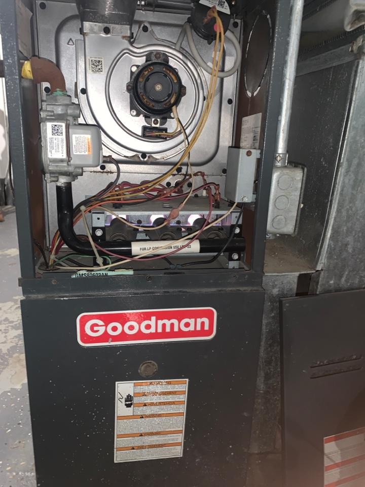 Detroit, MI - Goodman Furnace, no heat; Adv Clean & Check