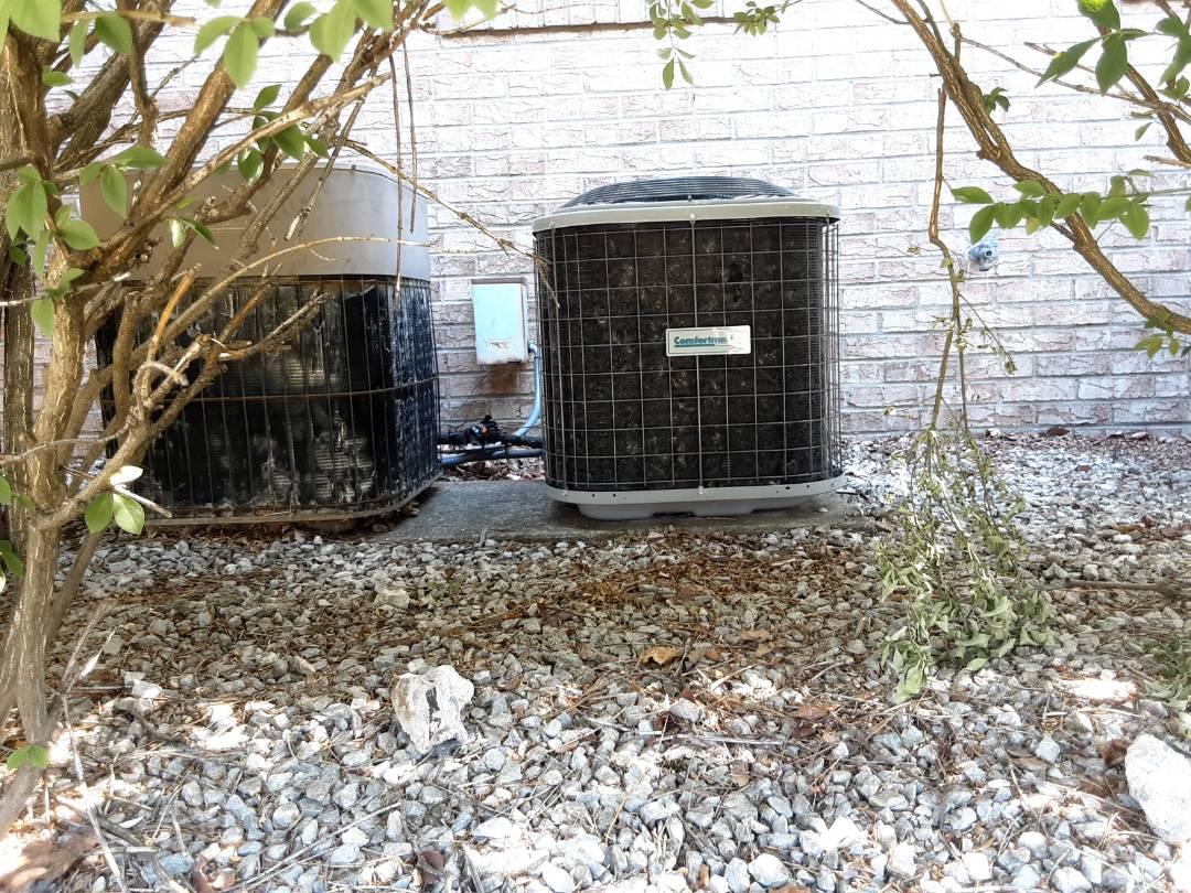 Fraser, MI - Comfortmaker air conditioner install.