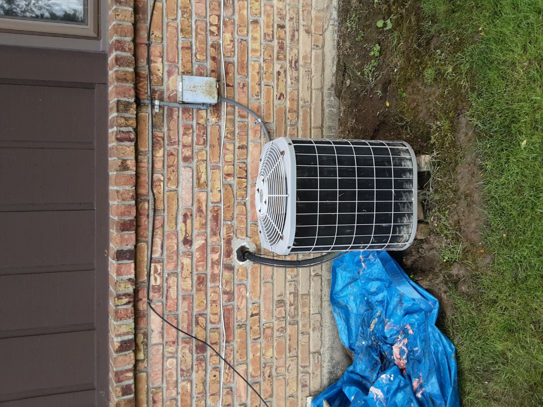 Southfield, MI - Carrier no AC. Replaced capacitor added Freon