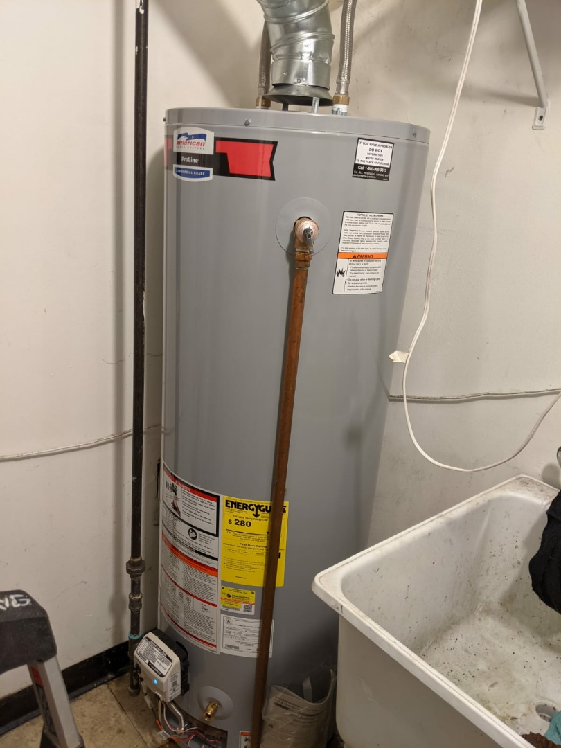 West Bloomfield Township, MI - American water heater install