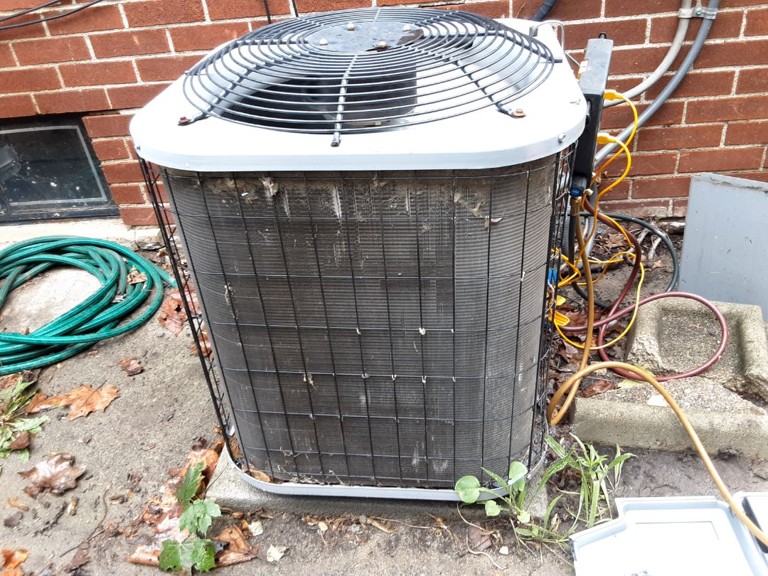 Oak Park, MI - Maratherm air conditioner. Replaced capacitor and added refrigerant.