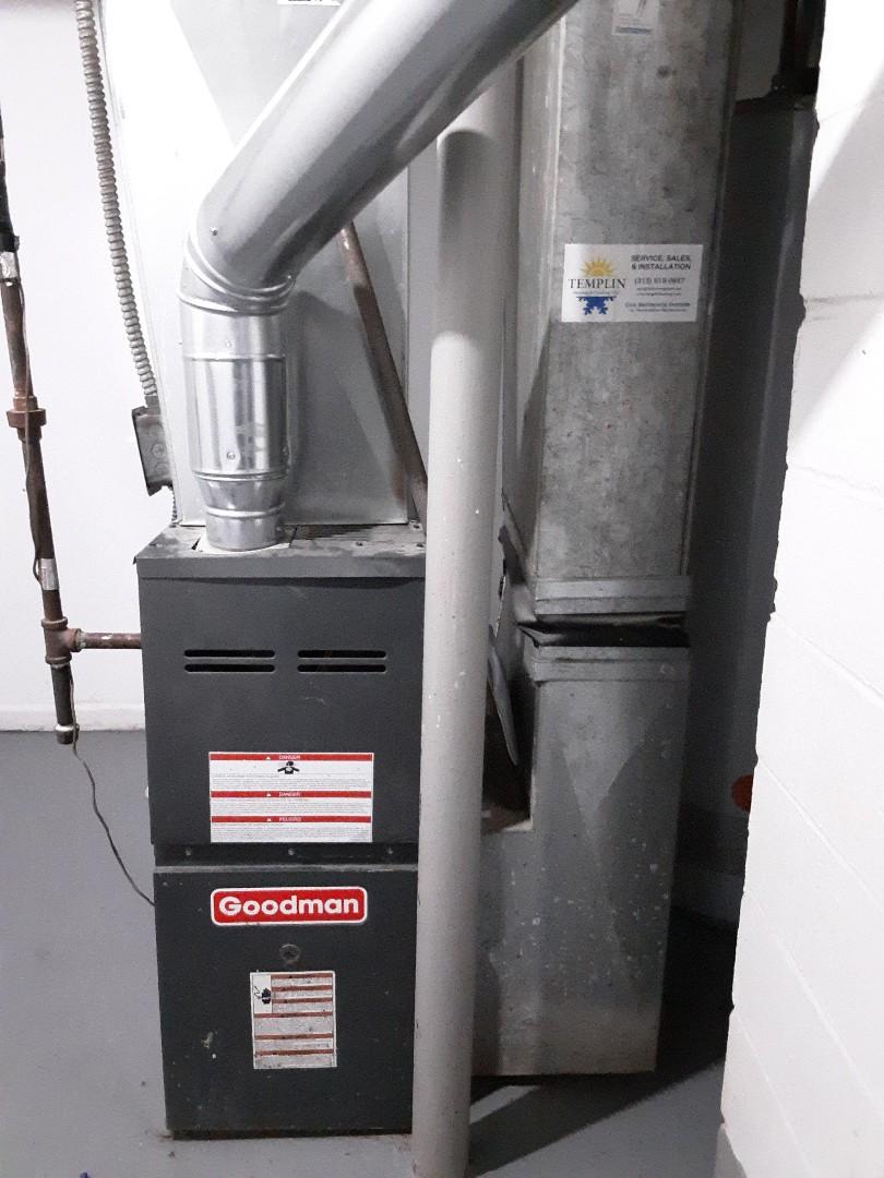 Goodman furnace Gas valve replacement