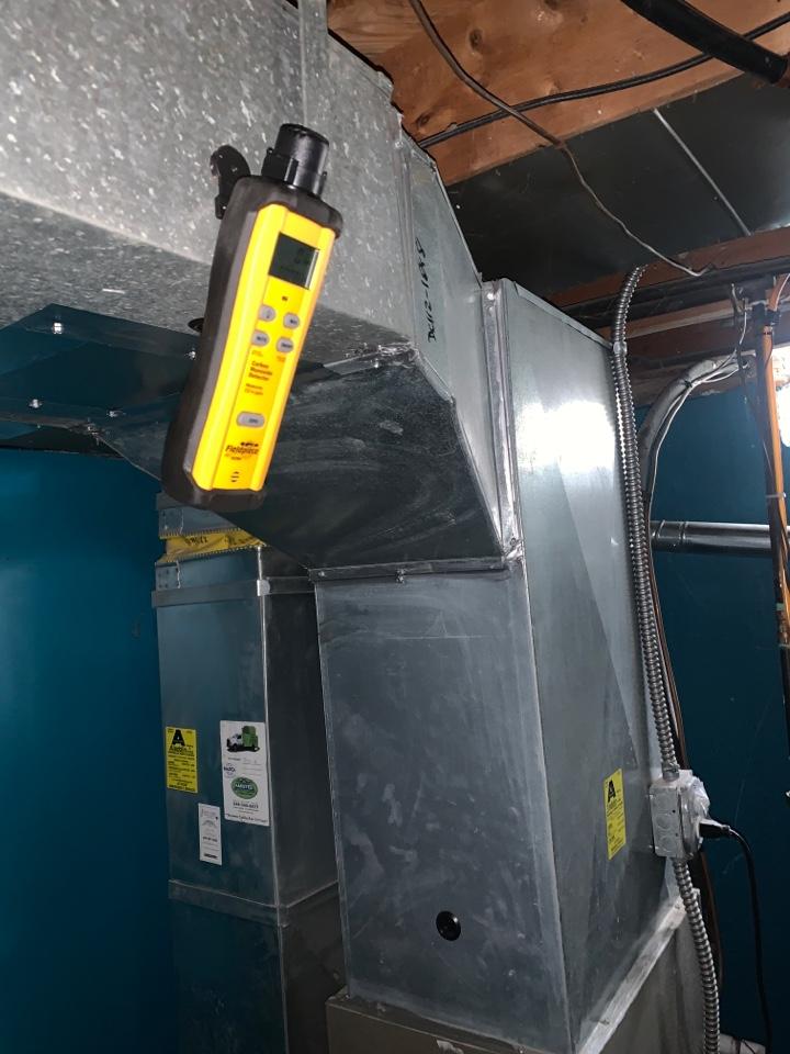 Southfield, MI - Payne furnace, CO testing