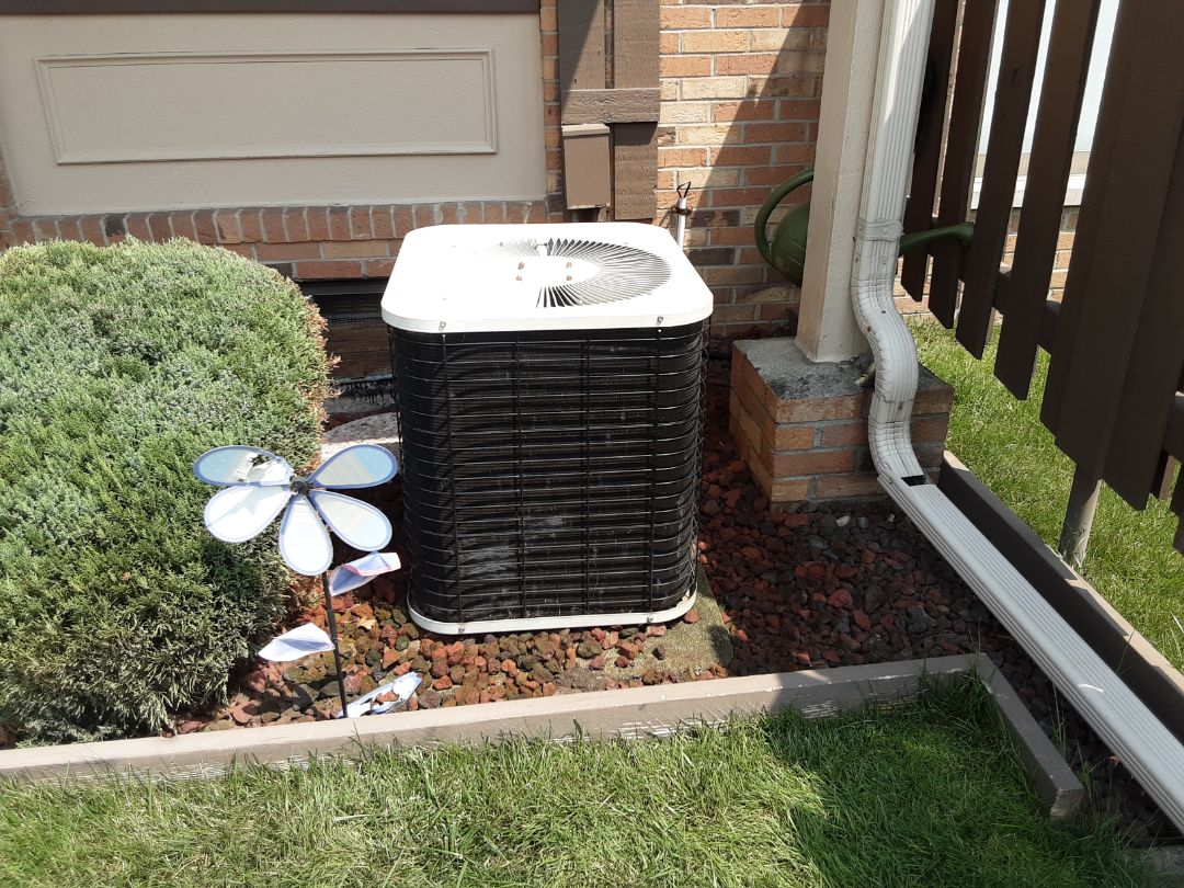 Trane air conditioner fan and motor replacement