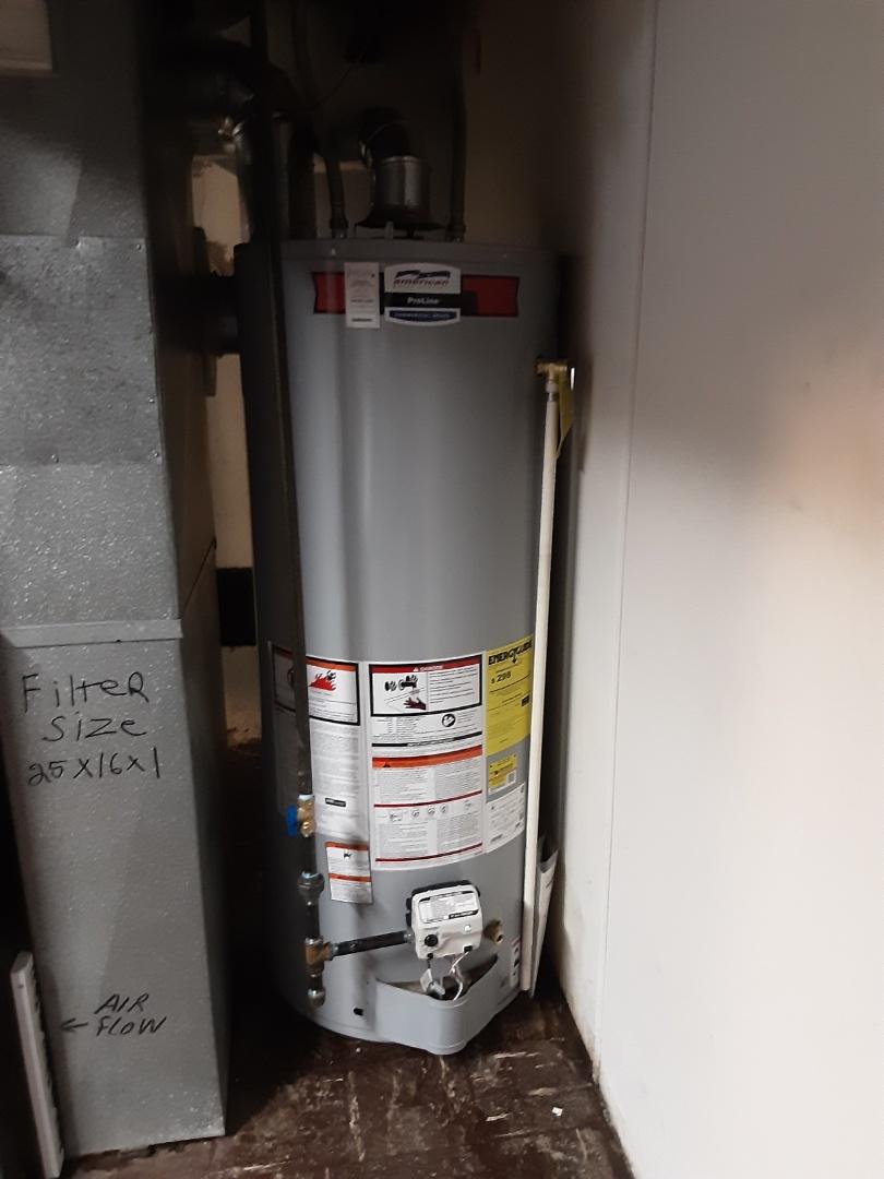 Southfield, MI - American water heaters install