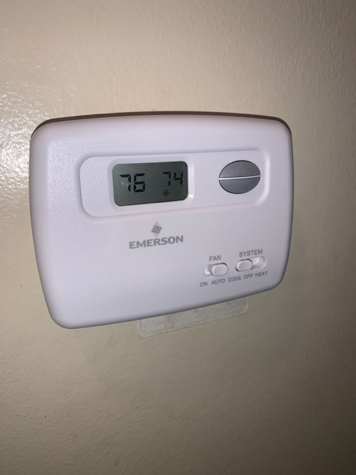No Cooling: Bad Thermostat (wont send signal to furnace)
