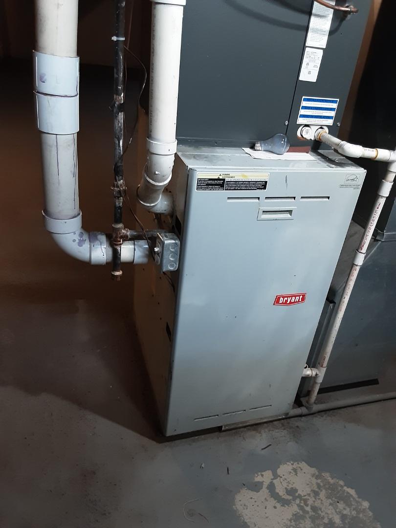 Detroit, MI - Bryant furnace board change out.