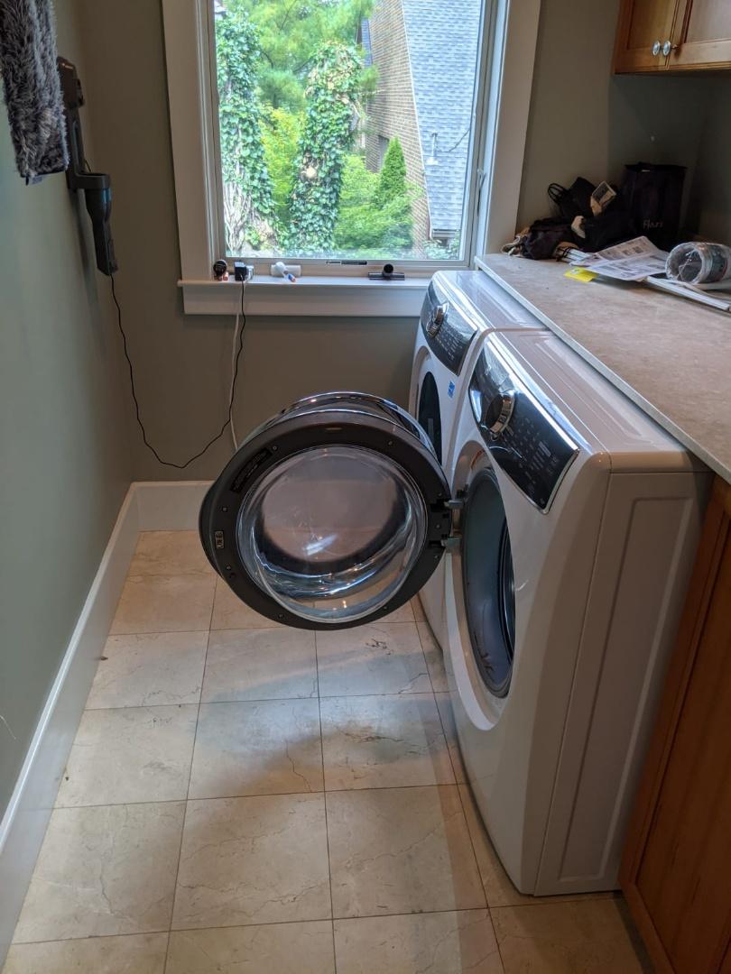 Dryer vent install