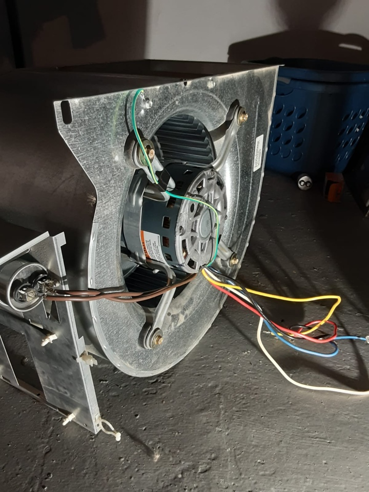 Ruud, No Cooling: Replaced Blower Motor