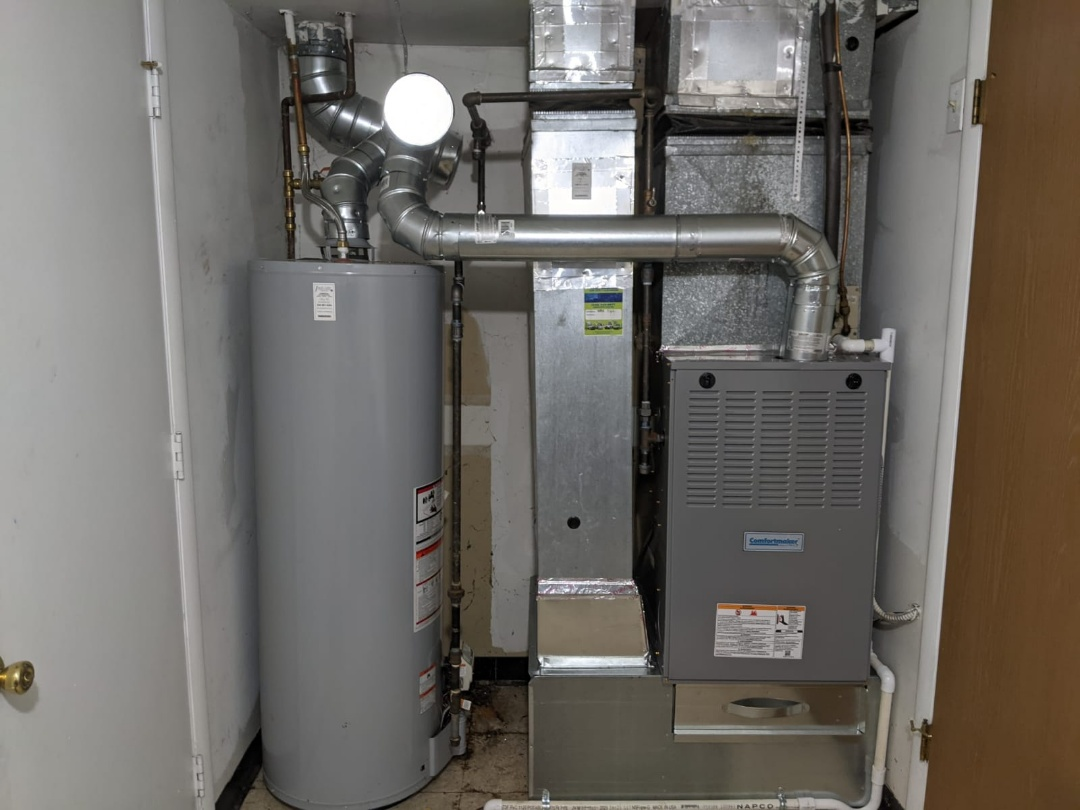 West Bloomfield Township, MI - Comfortmaker furnace install