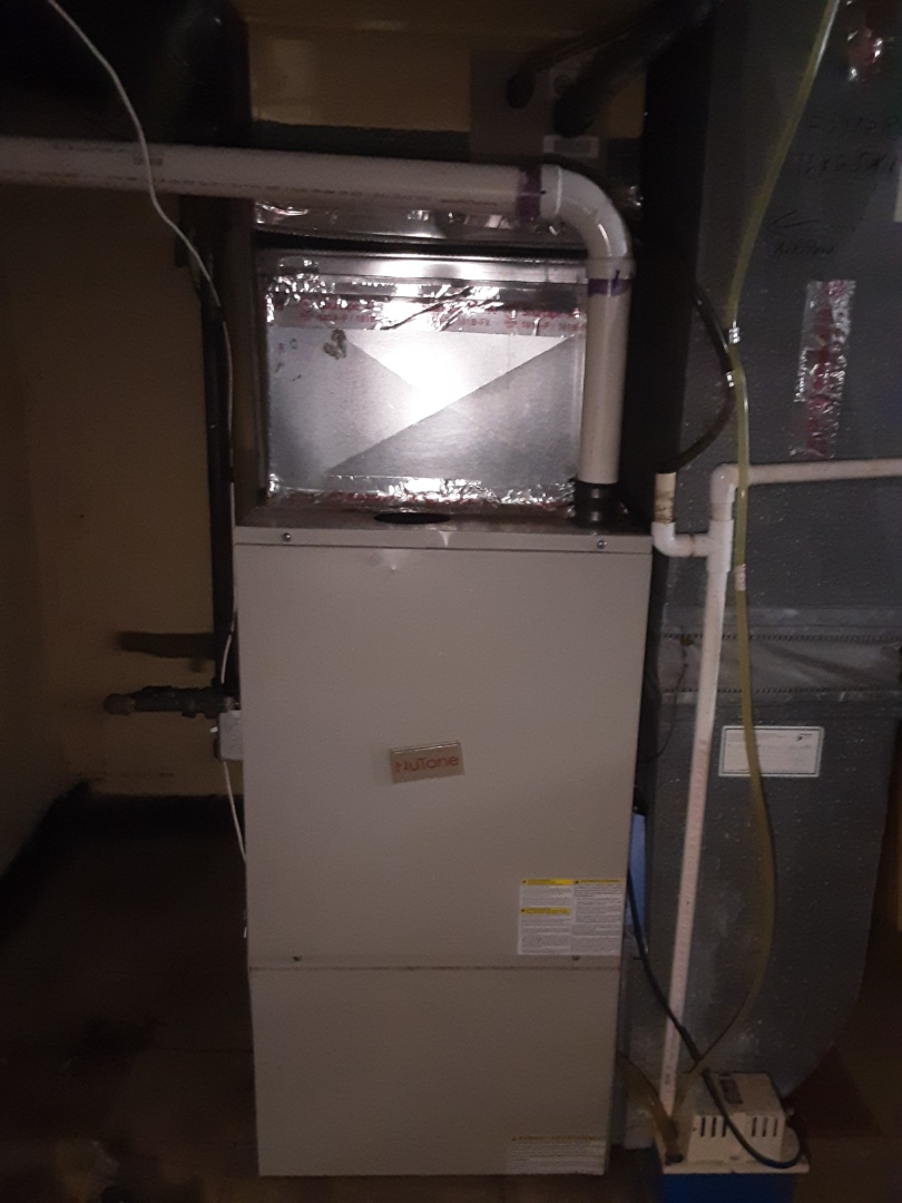 Detroit, MI - NuTone furnace clean and check