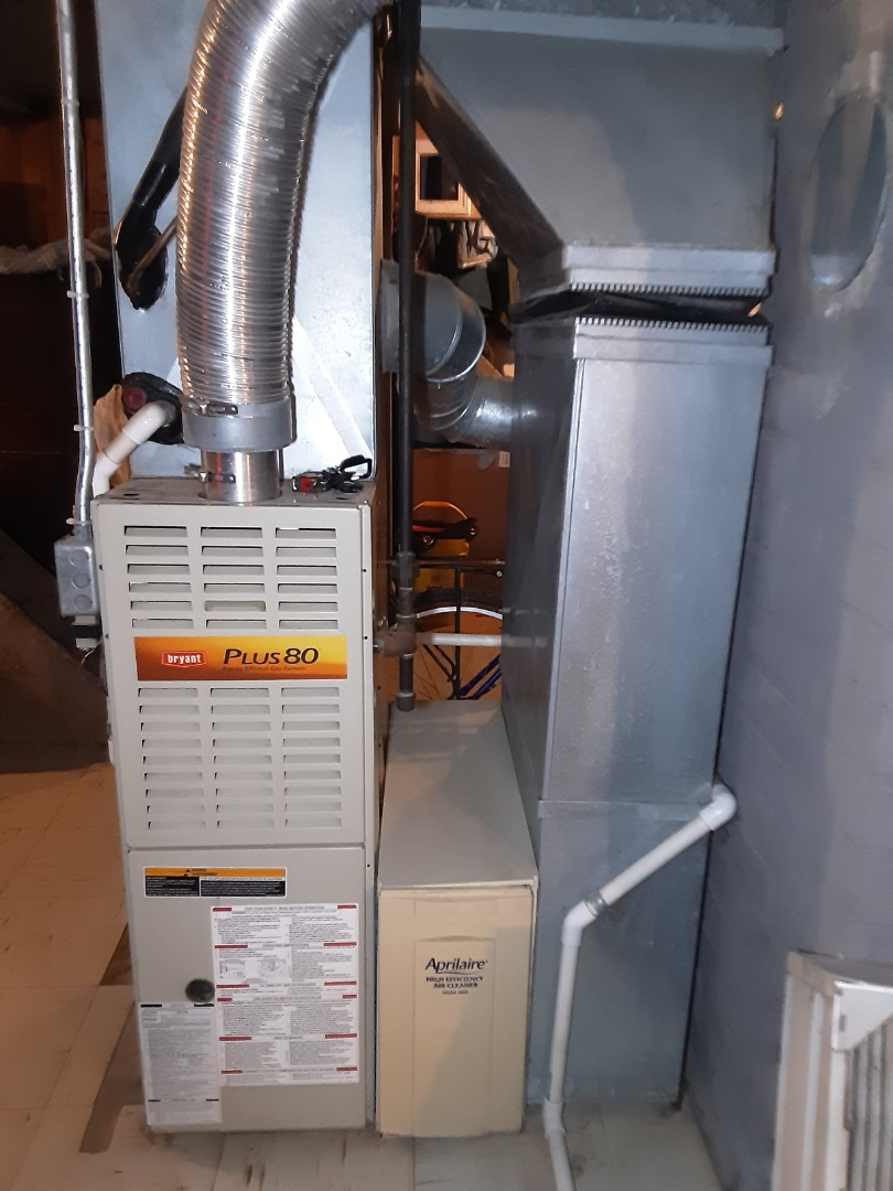 Bryant furnace clean and check