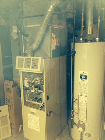 Hazelwood, MO - Troubleshooting a furnace that broke! Gas Heater Repair. Furnace Service