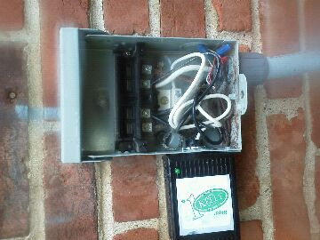 Ladue, MO - Installing surge protector to protect against electrical damage to air conditioner compressor during power surges