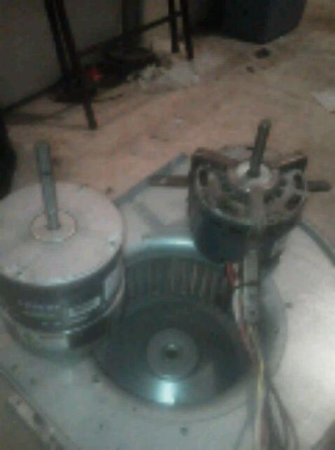 Clarkson Valley, MO - replaced old Pac motor with a eco tech blower motor to save in utility bills