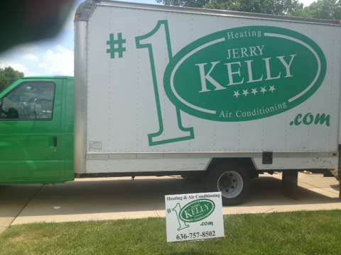 Frontenac, MO - Quality Assurance check of a Jerry Kelly Emerald System recently installed. Great job guys .