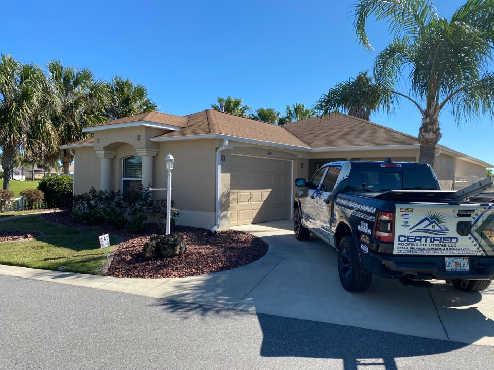 The Villages, FL - Preparing an estimate for a new GAF TIMBERLINE HDZ roofing system in The Villages!