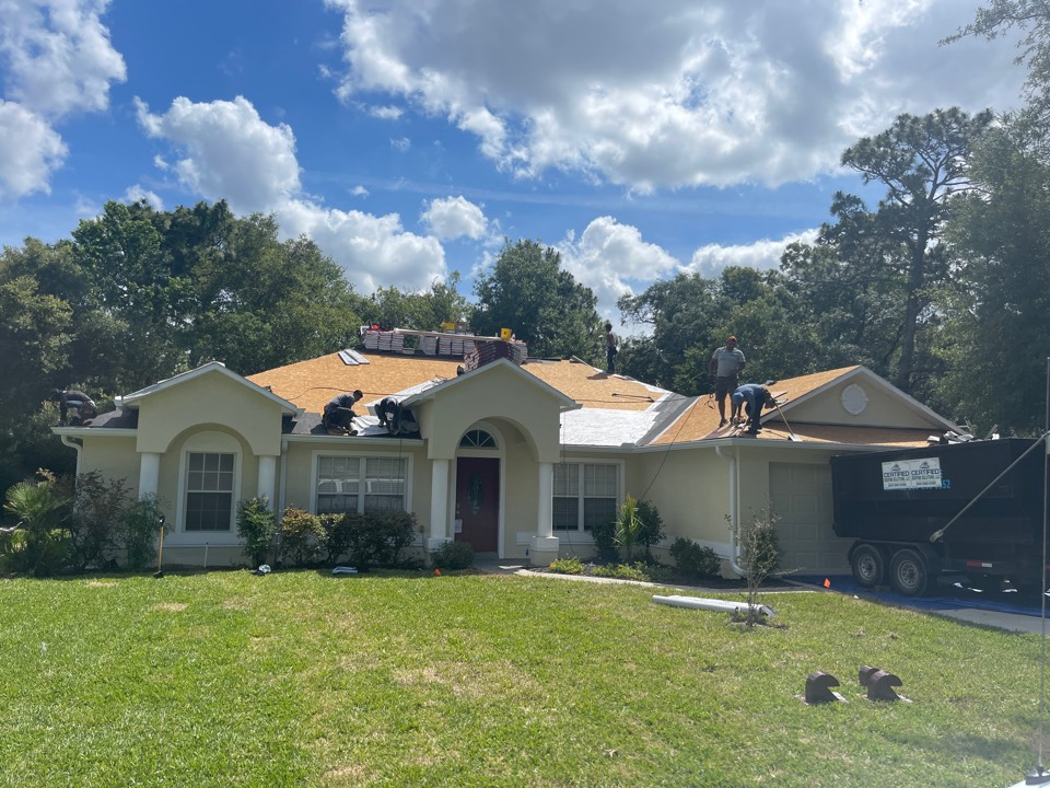 Homosassa, FL - This is a home we are getting ready to install a complete new GAL report system along with a gold pledge warranty over in Homosassa Florida.