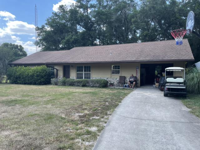 Ocala, FL - Remove old Plywood and Shingle replace with new plywood and GAF Timberline HDZ Driftwood Shingle Install half-lapped GAF Feltbusters underlayment to building code specifications. Install new Bullet Boot Shields on all plumbing projections. Install new Weatherwatch IWS in all valleys. Install 1.75 face Aluminum eave drip. A Lifetime Warranty to be issued by manufacturer.